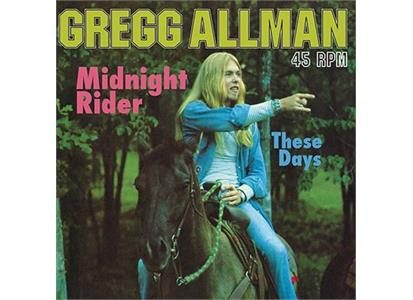 "AAPP123-45 Analogue Productions  Gregg Allman Midnight Rider / These Days (12"")"