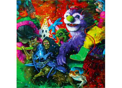 JNR277LP Joyful Noise  Tropical Fuck Storm Laughing Death in Meatspace (LP)