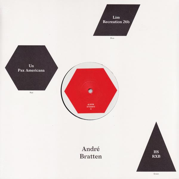"STS33512 Smalltown Supersound  André Bratten Un/Pax Americana (12"")"
