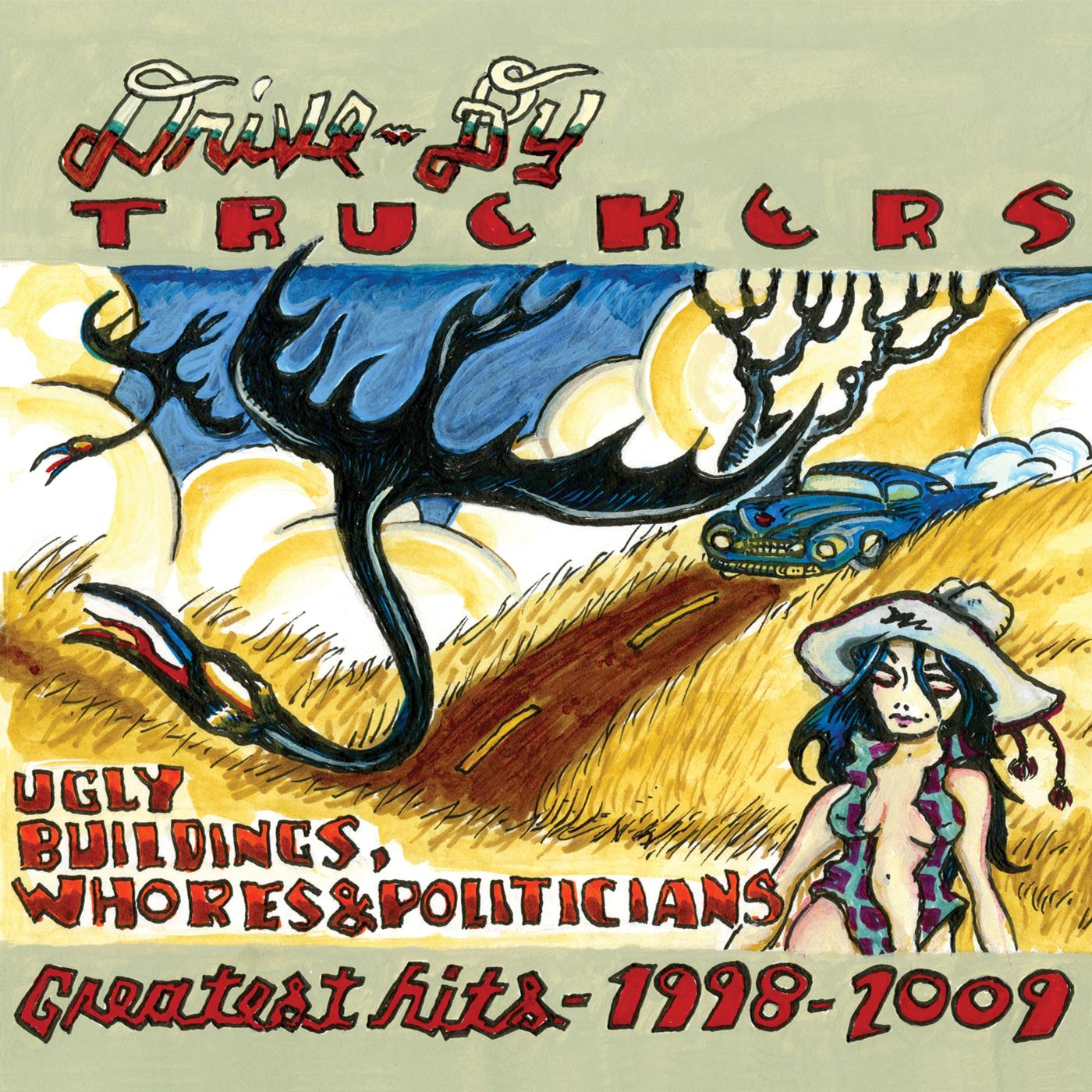 0739650292 New West  Drive-By Truckers Ugly Buildings...- Greatest Hits (2LP)