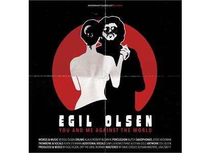 UIREC021LP Iknowwhatyoudidlastrecords  Egil Olsen You and Me Against the World (LP)