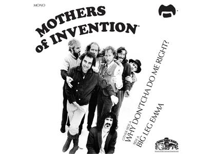 082430212217 Universal  Frank Zappa/Mothers of Invention Big Leg Emma (7'')