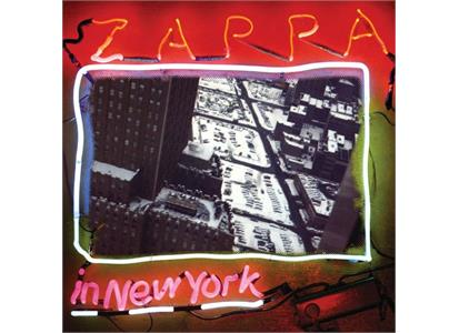0824302385616 Zappa  Frank Zappa Zappa In New York (3LP)