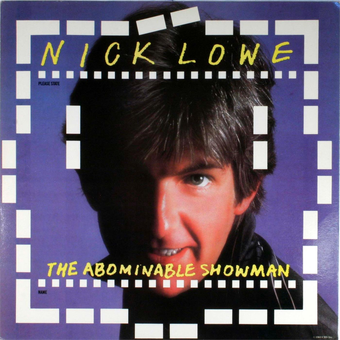 YEP2398LP Yep Roc  Nick Lowe The Abominable Showman (LP+7'')
