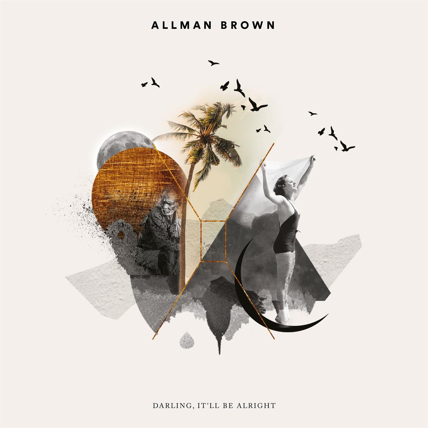 AB018V Allman Brown  Allman Brown Darling, It'll Be Alright (LP)
