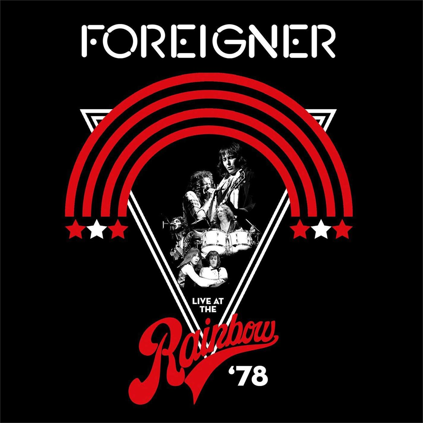 0603497851881 Rhino  Foreigner Live At The Rainbow '78 (2LP)