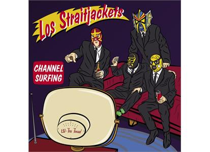 "YEP2651LP Yep Roc Records  Los Straitjackets Channel Surfing EP (12"")"
