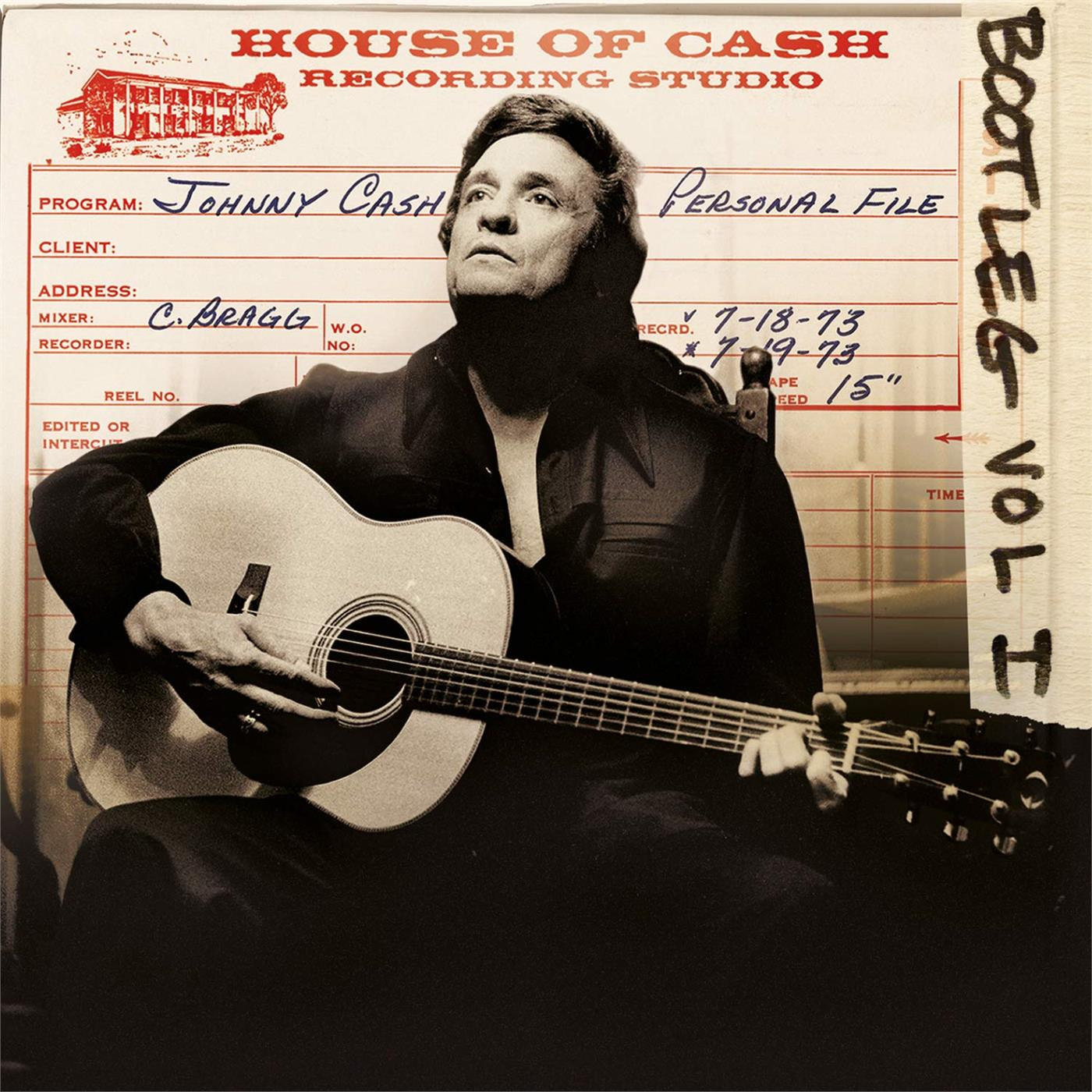 MOVLP284 Music on Vinyl  Johnny Cash Bootleg 1: Personal File (3LP)