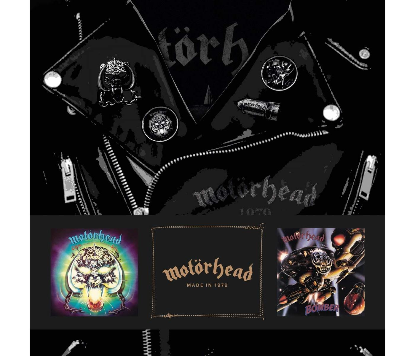 4050538462548 BMG Rights Management  Motörhead Motörhead Made In 1979 - LTD (9LP)