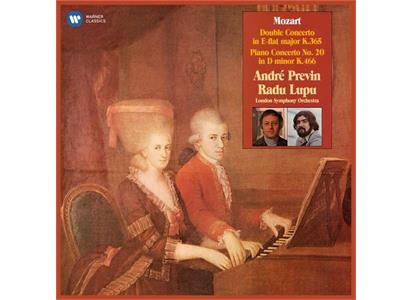 0190295460983 Warner  André Previn Mozart: Two-Piano Concerto K.3 (LP)