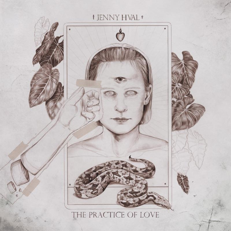 ST018LP Su Tissue  Jenny Hval The Practice Of Love (LP)