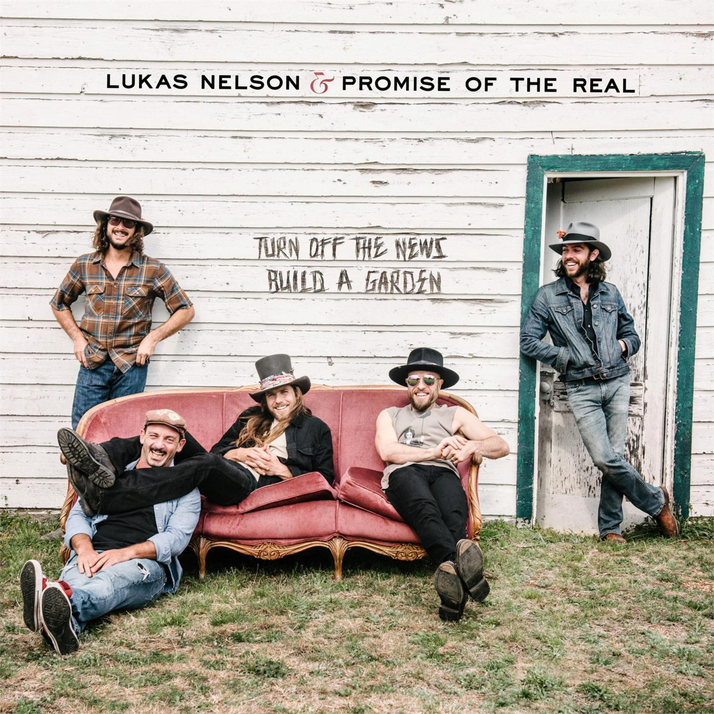 0888072095205 Concord  Lukas Nelson & Promise of The Real Turn Off The News (Build A Garden) (2LP)