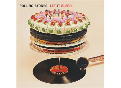 0018771858416 ABKCO  The Rolling Stones Let It Bleed - 50th Anniv. Edition (LP)