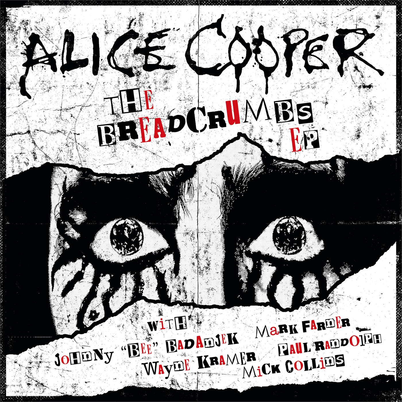 0214216EMU Ear Music  Alice Cooper Breadcrumbs - LTD (10'')