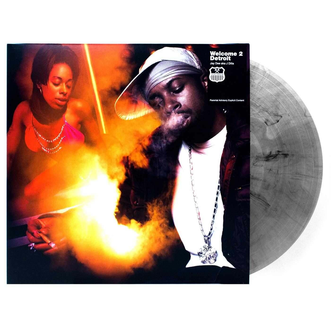 BBAM1 BBE  J Dilla Welcome 2 Detroit (LP- LTD)