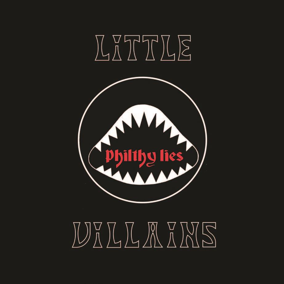 HPS096LTD Heavy Psych Sounds  Little Villains Philthy Lies - LTD (LP)