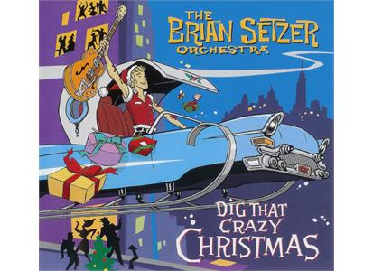 0810020500707 Mascot  Brian Setzer Orchestra Dig That Crazy Christmas - LTD (LP)