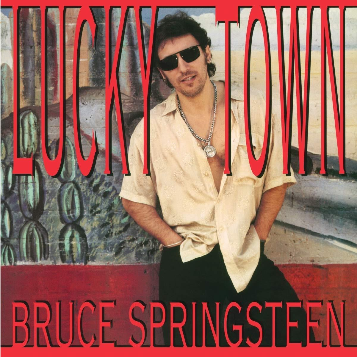 0889854601614 Columbia  Bruce Springsteen Lucky Town (LP)