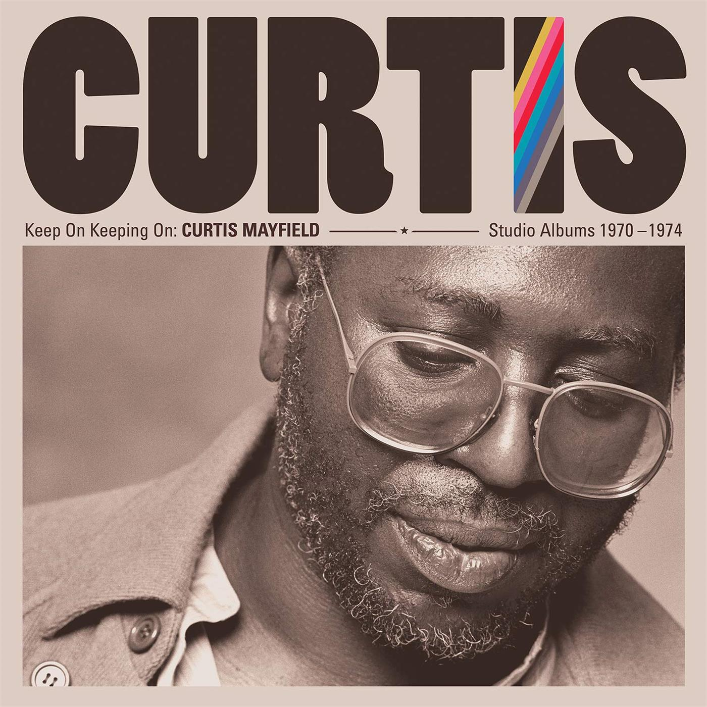 0603497855797 Rhino  Curtis Mayfield Keep On Keeping On: 1970-1974 (4LP)