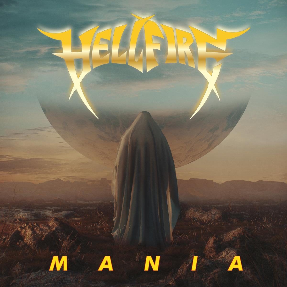 EZRDR102LP   Hell Fire Mania (LP)