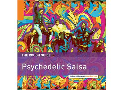 RGNET1304LP World Music Network  Diverse Artister Rough Guide To Psychedelic Salsa  (LP)