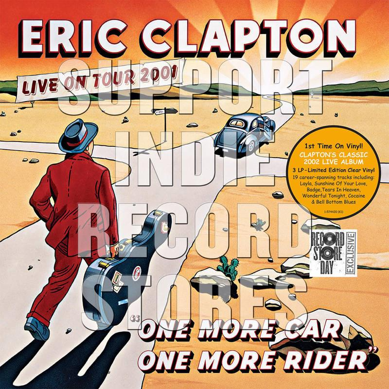 0093624903277 Warner Bros.  Eric Clapton One More Car, One More Rider (3LP)