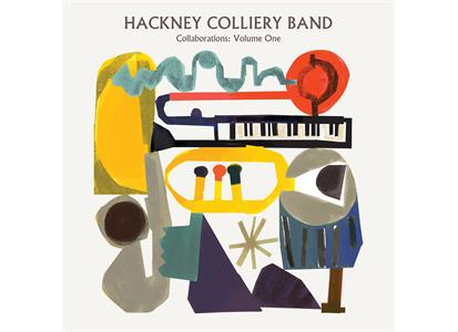 HCB004 Veki Records  Hackney Colliery Band Collaborations: Volume One (LP)