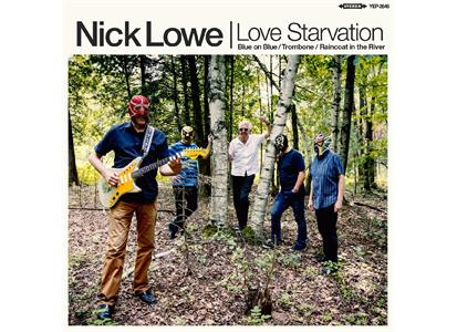 "YEP2646LP Yep Roc Records  Nick Lowe Love Starvation/Trombone (12"")"