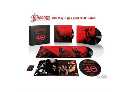 0190296900112 ADA  Saxon The Eagle Has Landed 40 (Live) (5LP)