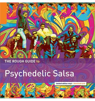 Diverse Artister Rough Guide To Psychedelic Salsa  (LP)