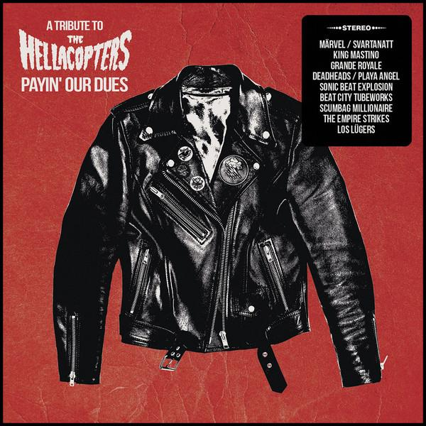 HELL666RED El Behringer Records  Diverse Artister / Hellacopters Tribute Payin' Our Dues: A Tribute- LTD RØD (LP)