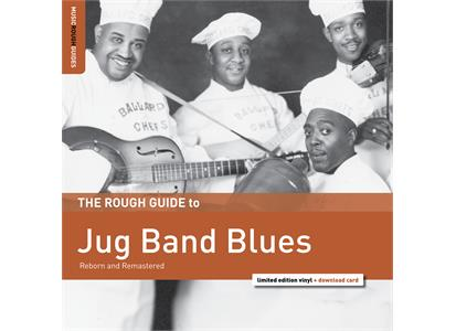 RGNET1358LP Rough Guide  Diverse artister The Rough Guide To Jug Band Blues (LP)