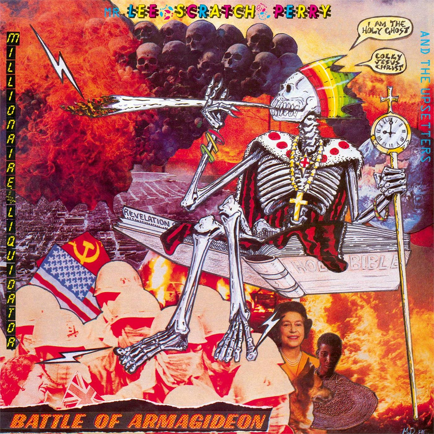MOVLP2525 Music on Vinyl  Lee Scratch Perry Battle Of Armagideon (LP)