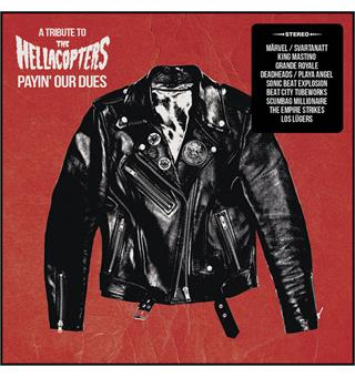 Diverse Artister / Hellacopters Tribute Payin' Our Dues: A Tribute- LTD RØD (LP)