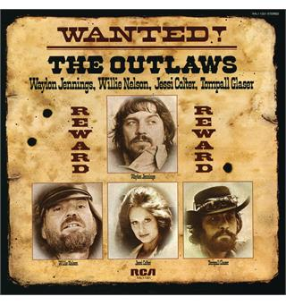 Waylon Jennings, Nelson, Colter, Glaser Wanted! The Outlaws (LP)