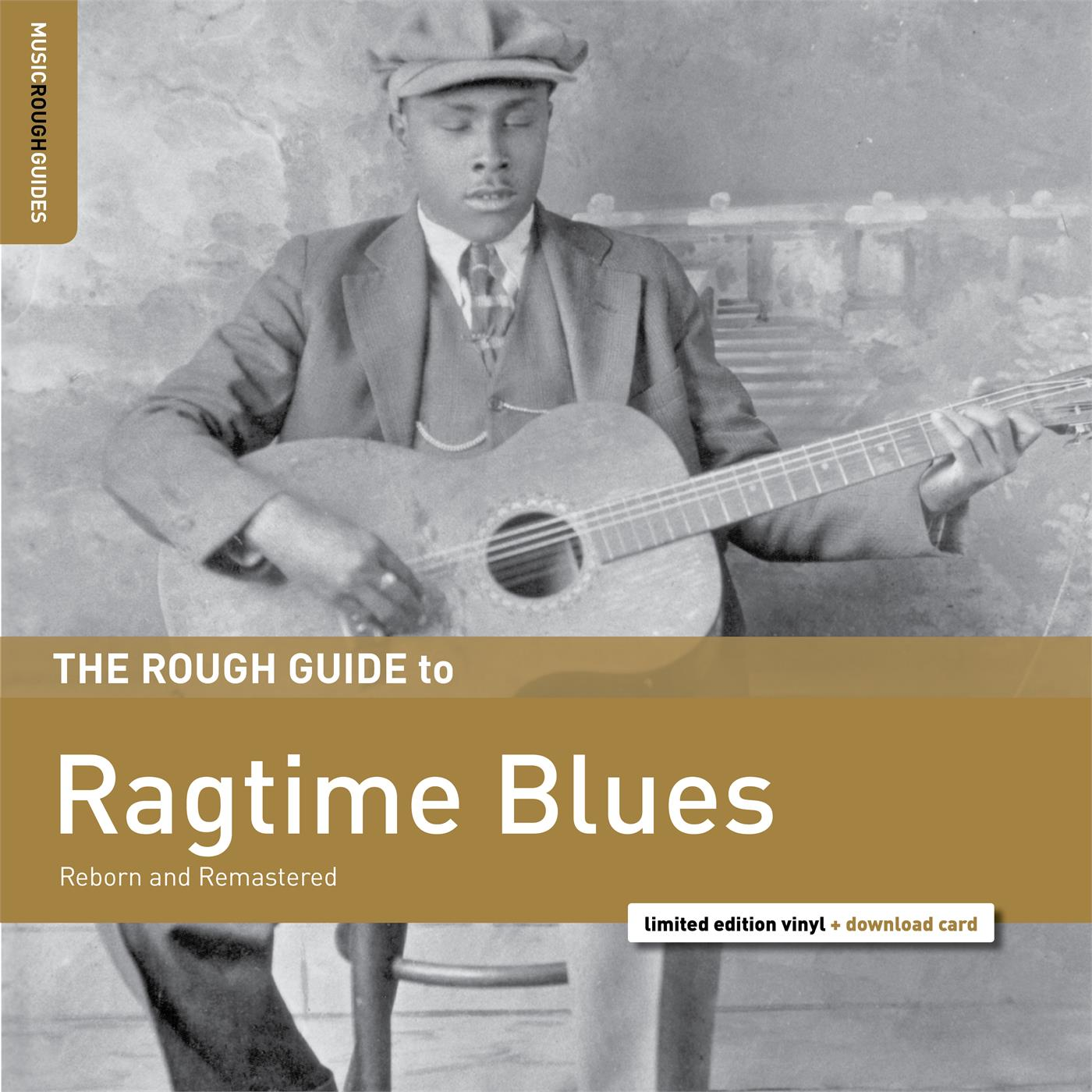 RGNET1359LP Rough Guide  Diverse artister The Rough Guide To Ragtime Blues (LP)