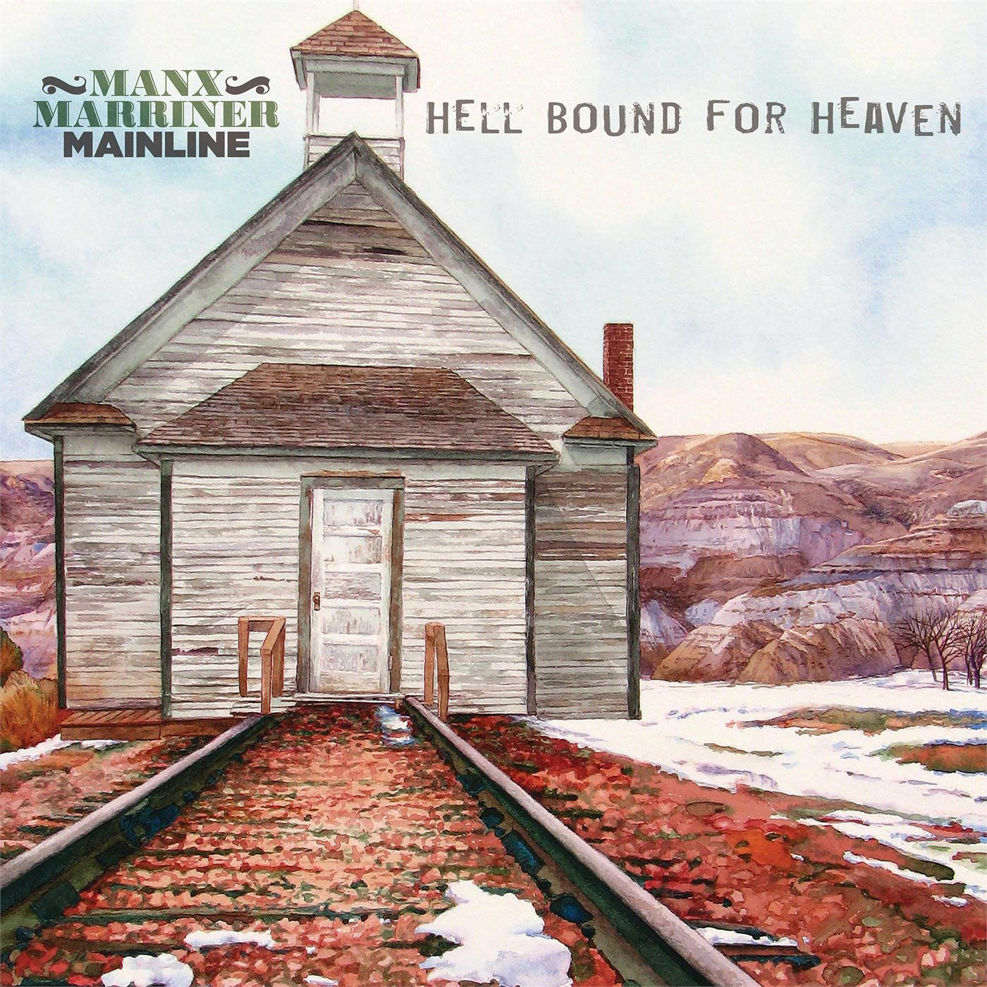 SPLP1404 Stony Plain  Harry Manx & Steve Marriner-Mainline Hell Bound For Heaven (LP)