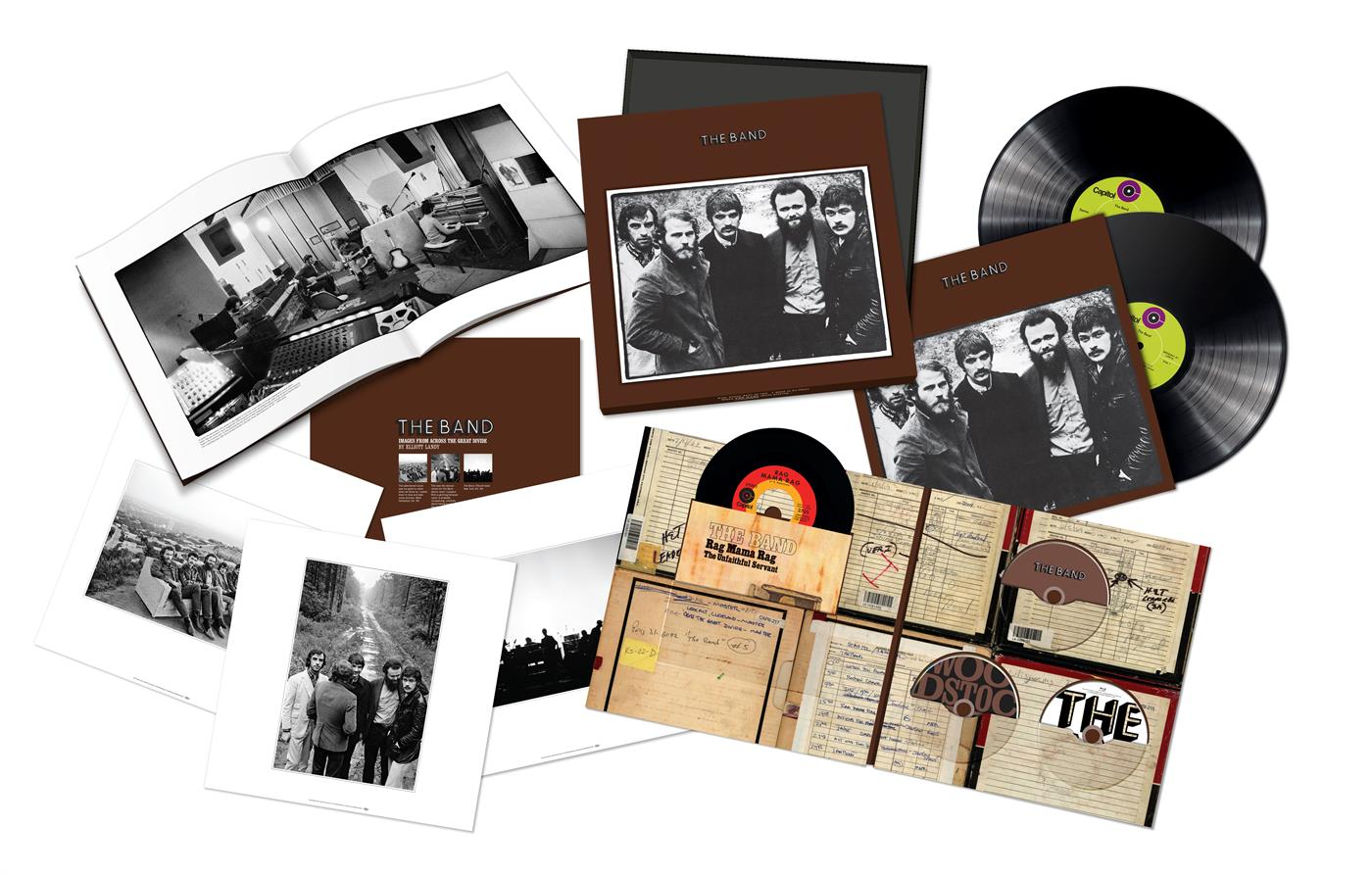 0602577842832 Capitol  The Band The Band - 50th Anniversary Deluxe Box
