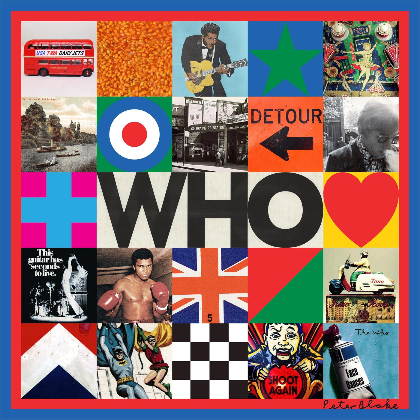 0602577470530 Universal  The Who WHO (LP)