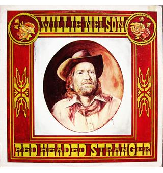 Willie Nelson Red Headed Stranger (LP)