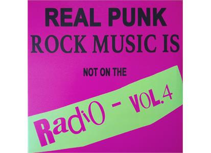 OPR028 October Party Records  Diverse Artister Real Punk Rock Music Is... Vol. 4 (LP)