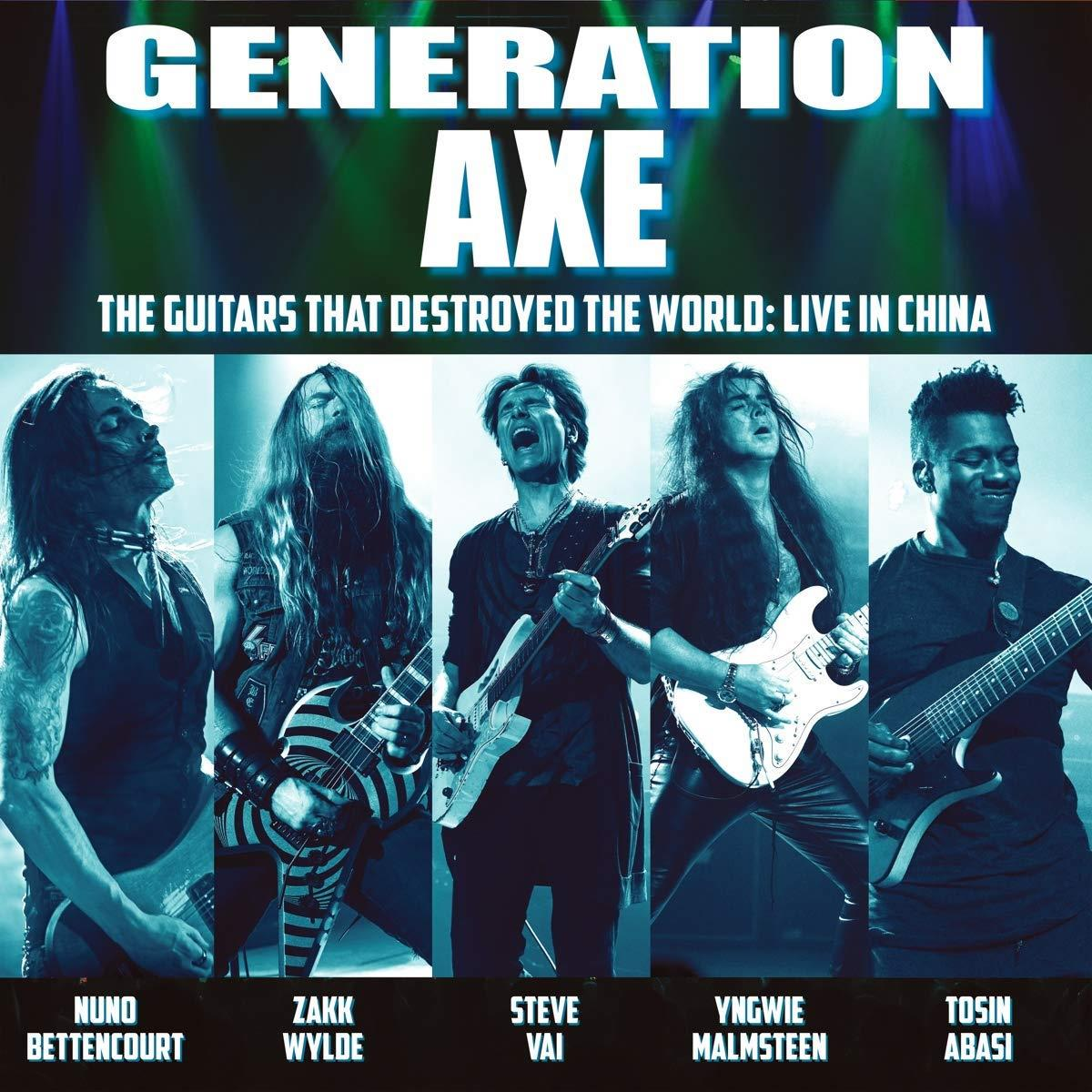 0214056EMU Ear Music  Generation Axe The Guitars That Destroyed The... (2LP)