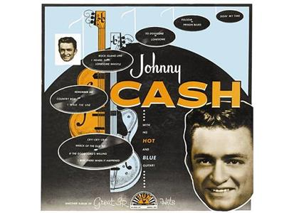 LP5238 Sundazed  Johnny Cash With His Hot And Blue Guitar (LP)