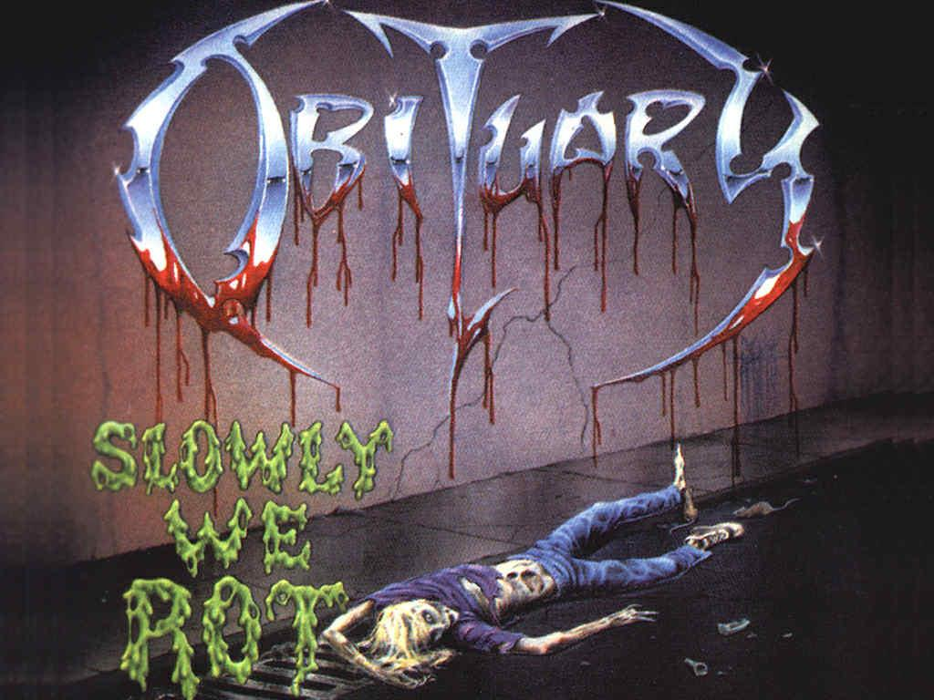 MOVLP2276 Music on Vinyl  Obituary Slowly We Rot (LP)
