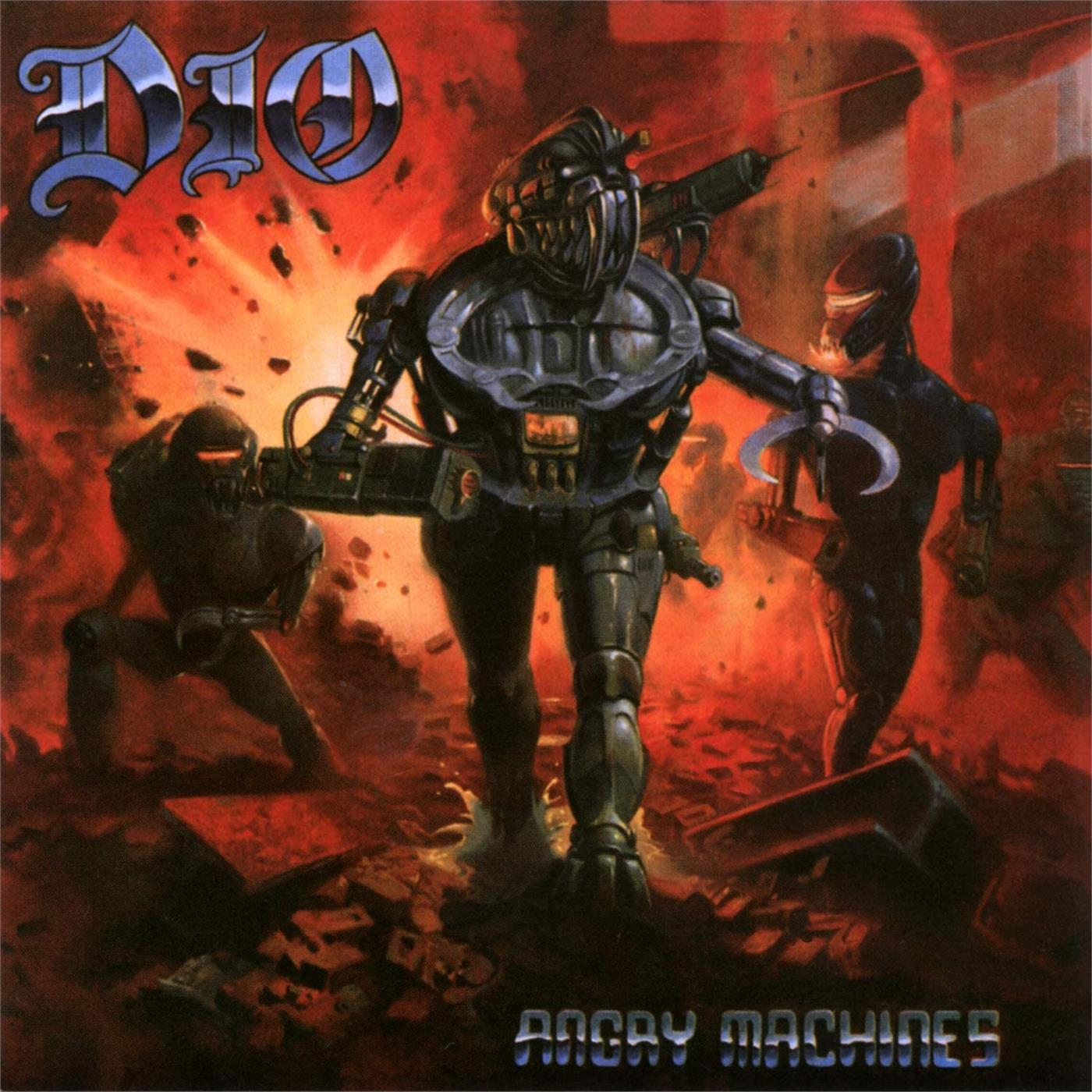 4050538597264 BMG Rights Management  Dio Angry Machines (LP)