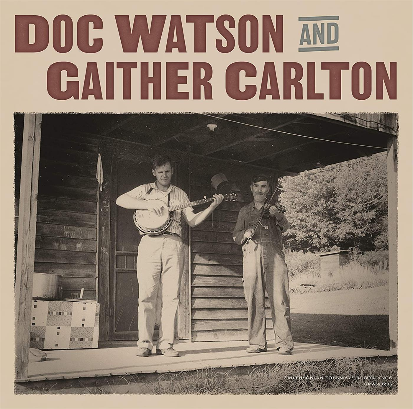 SFW40235.1 Smithsonian Folkways  Doc Watson And Gaither Carlton Doc Watson And Gaither Carlton (LP)