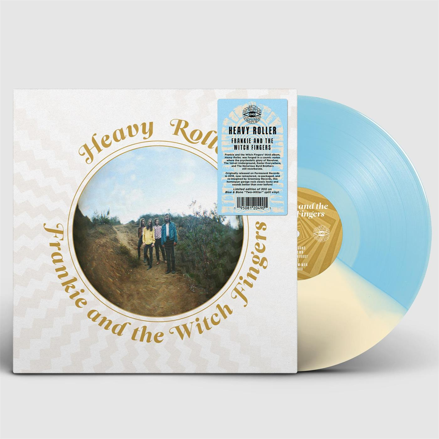GWY066LTD1 Greenway Records  Frankie And The Witch Fingers Heavy Roller (LP)