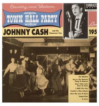 Johnny Cash Live At Town Hall Party 1958! (LP)