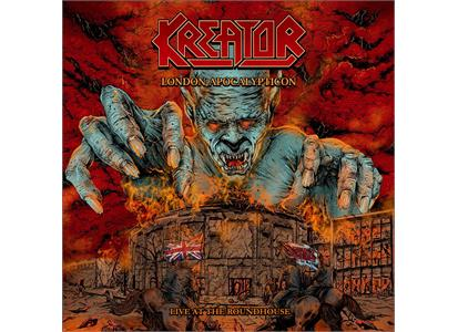 NB48101 Nuclear Blast  Kreator London Apocalypticon: Live At... (2LP)