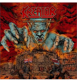 Kreator London Apocalypticon: Live At... (2LP)